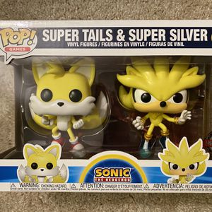 FUNKO Pop Sonic Super Tails & Super Silver 2 Pack Special Edition for Sale in Hawthorne, CA