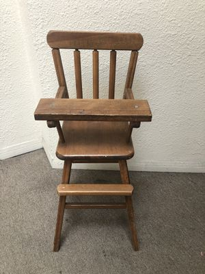 Doll high chair for Sale in Chula Vista, CA