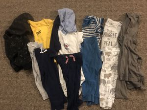 Lot of 12 size 12 month kids clothes for Sale in Lake Stevens, WA