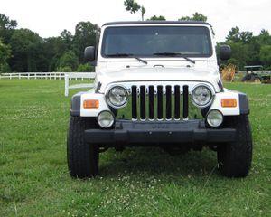 Works Great 2003 Jeep Wrangler Rubicon 4WDWheels4 for Sale in El Paso, TX