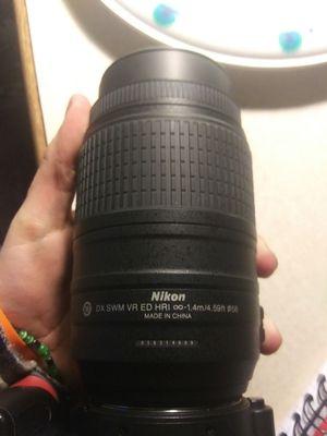 Nikon lens 55-300mm for Sale in Orange, TX
