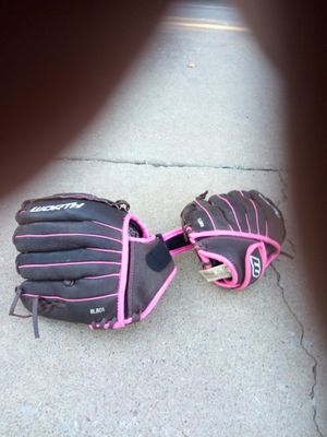 2 Worth ball gloves for Sale in Edmond, OK