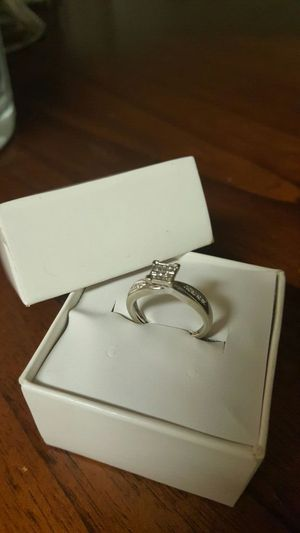10k white gold Diamond ring size 6.75 retail $1400 for Sale in Severn, MD