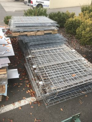 Pallet rack grating for Sale in Puyallup, WA