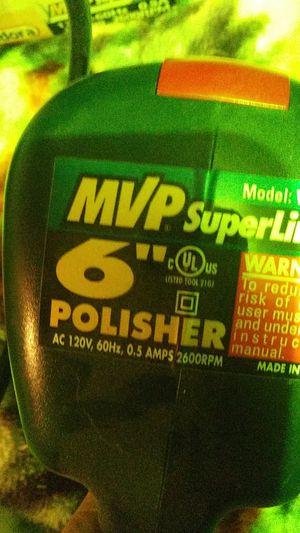 6 MVP superline car buffer polisher for Sale in Goldsboro, MD