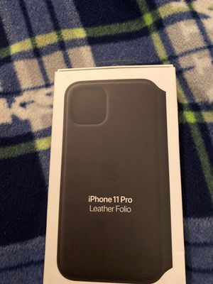 iPhone 11 Pro leather folio for Sale in Spokane, WA
