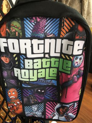 Fortnite Battle Royale Backpack Bag Raven the Cloaked Star for Sale in La Habra Heights, CA