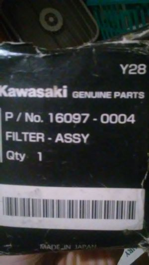 OEM Kawasaki oil filter for Sale in Gibsonton, FL