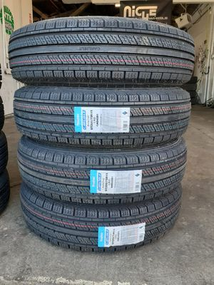 205 75 15 ST brand new trailer tires $435 all 4 free mount and installation for Sale in Tacoma, WA