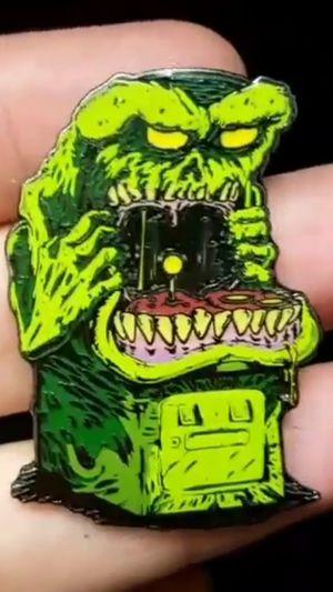 Monster Arcade Machine Video Game Lapel Pin for Sale in Rancho Santa Margarita, CA