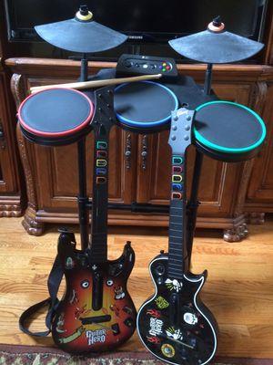 Guitar Hero Set for Xbox 360 for Sale in Woodstock, GA