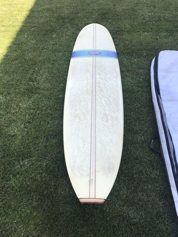 9' Bing Classic Noserider Longboard Surfboard