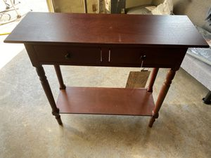 Safavieh dark cherry 2 drawer console table. for Sale in Preston, MD