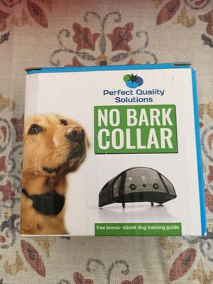 Perfect Quality Solutions No Bark Collar for Sale in Waynesville, OH