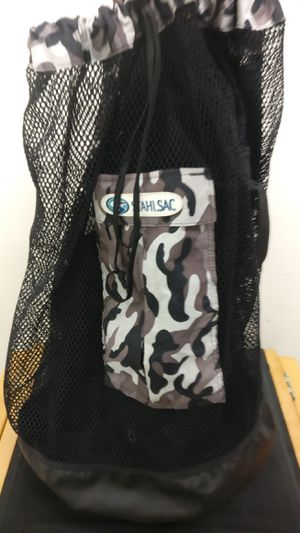 Stahlsac Bonaire Scuba Diving Travel Mesh Backpack Gear Bag Camo for Sale in Costa Mesa, CA