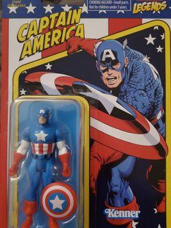 Hasbro Kenner Marvel Legends Retro 3.75 Captain America for Sale in Oxnard,  CA