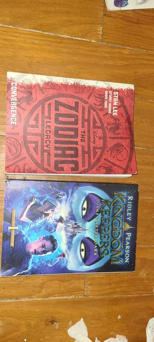 Disney books, Kingdom Keepers and The Zodiac Legacy for Sale in OLD RVR-WNFRE, TX