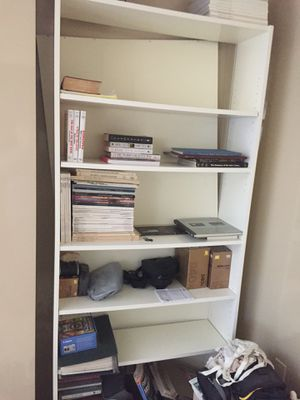 White bookcase for Sale in Washington, DC