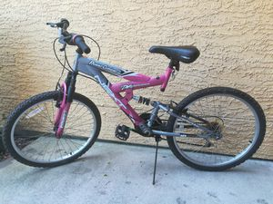 """24"""" powerclimber dual suspension bike for sale for Sale in Pearland, TX"""