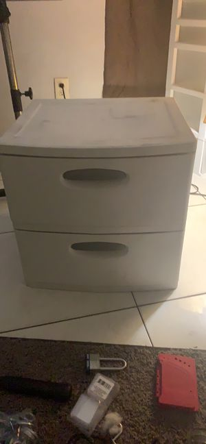 Plastic drawers for Sale in Fort Pierce, FL