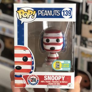 Funko Pop - SNOOPY PATRIOTIC - 2016 SDCC Exclusive for Sale in ROWLAND HGHTS, CA