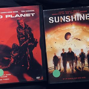 2 DISC SCI-FI DVD MOVIE SET: Includes Sunshine & Red planet for Sale in Mansfield, TX