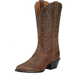 NEW ARIAT Size 8 Women Heritage Western R Toe Western Cowboy Boot- for Sale in San Jose, CA