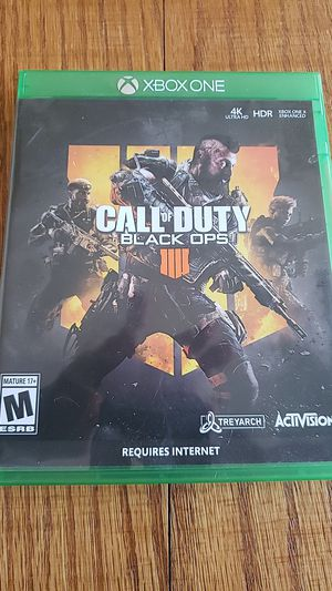 Call of Duty Black Ops 4 Xbox one for Sale in Marysville, WA