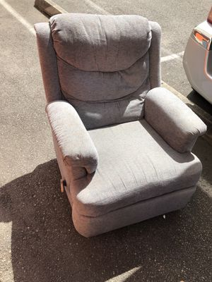Grey recliner for Sale in Seattle, WA