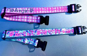 Custom dog or cat collar for Sale in Cleveland, TX