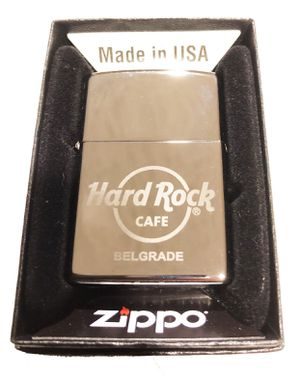 Hard Rock Cafe BELGRADE Collectible ZIPPO Lighter for Sale in Grayslake, IL
