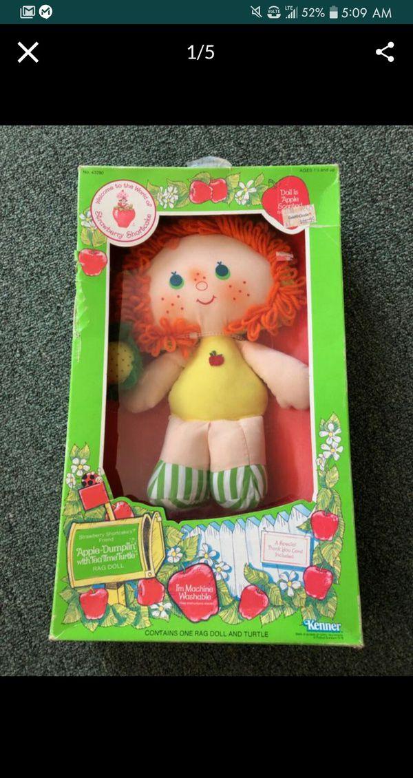 Strawberry Shortcake RAG Doll collection
