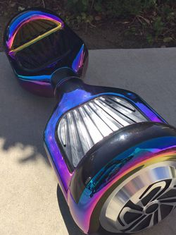 """Rare Rainbow Chrome 6.5"""" Hoverboard W/bluetooth for Sale in Ontario,  CA"""