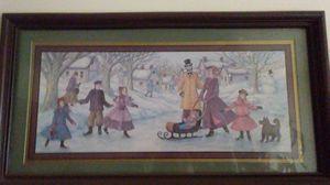 Winter scene picture for Sale in Dixon, MO