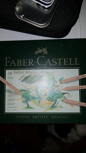 Pastel pencils faber castell art supplies for Sale in Las Vegas, NV
