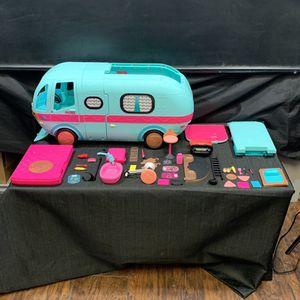 LOL Surprise OMG 2 IN 1 GLAMPER Playset Camper Van Dollhouse for Sale in Dahlonega, GA