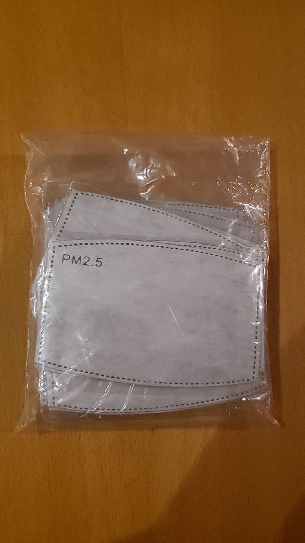 30pcs PM2.5 activ.. white filter replacement for face mask