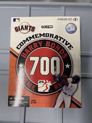 NEW Barry Bonds San Francisco Giants commemorative 700 Homeruns McFarlane Sportspicks Action figure /12000 for Sale in Murrieta, CA