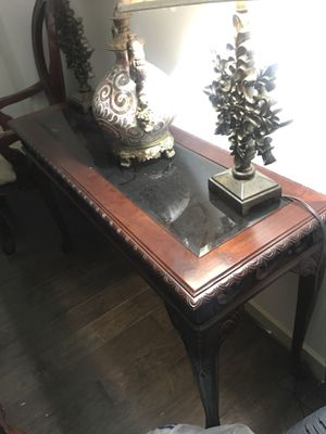 2 End Tables & Console Table retail $800 for Sale in Silver Spring, MD
