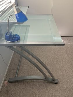 Metal And Glass Desk for Sale in Irvine,  CA