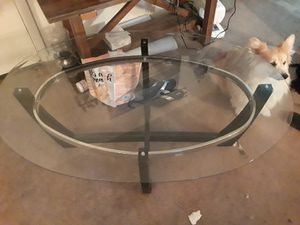 Glass coffee table for Sale in Santa Monica, CA