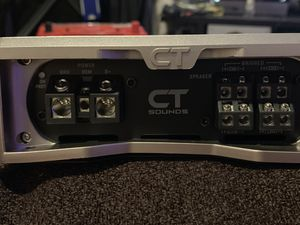 CT Sounds T100.4 car amp for Sale in Queens, NY