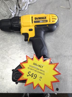 Dewalt 20 V drill with battery 11091138991 for Sale in Sacramento, CA