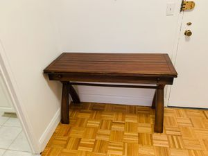 Cherry Side Bar Table That Fold Open to Seat 6 for Sale in New York, NY