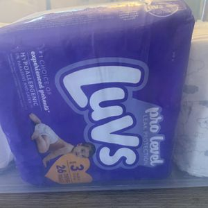 Size 3 Diapers for Sale in San Bernardino, CA