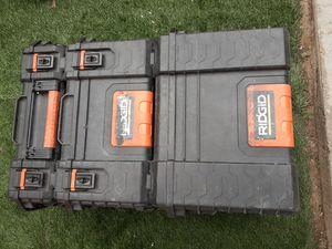 Ridgid tool boxes. for Sale in Costa Mesa, CA