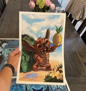 Tiki Stitch Print (size 11x17) for Sale in Glendale, AZ