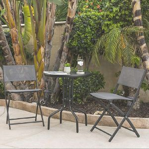 BRAND NEW 3 Piece Patio Set Outdoor Furniture Weather Rust Resistant for Sale in Sarasota, FL