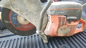 Husqvarna k 760 chainsaw concrete for Sale in Silver Spring, MD