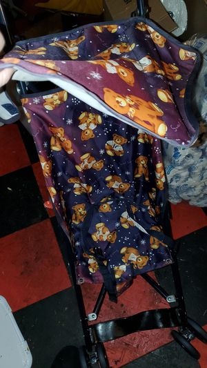 Teddybear stroller with sun visor for Sale in Perryville, MD
